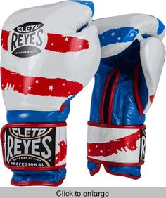 Reyes Hook & Loop Boxing Gloves- Handcrafted in Mexico of 100% full grain leather and multi-layer foam padding with traditional memory foam for the ultimate in performance.  http://store.titleboxing.com/reyes-hook-and-loop-boxing-gloves.html
