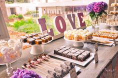 Mesa de dulces y postres · Wedding Senses