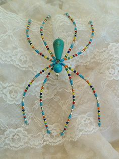 I make Crystal Victorian Christmas spiders that are inspired by the story of the Christmas Spider ( you can click on any spider in my store and read the story of the Christmas spider). I have them for sale in an online craft mall called Etsy. http://www.etsy.com/shop/LindaLarsens all of my spiders are available online and no 2 are the same.