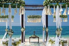 Matrimono Estivo Total White? Siiiii! Proprio al mare!
