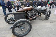 La Darracq V8 1908 (ou plutôt, 1905)