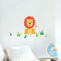 Lion Wall Sticker - wall stickers
