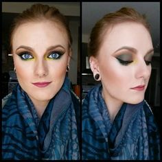 Make 'em dark for a dramatic look… | Tropical Eyes Are The New Smokey Eyes And They're Mesmerizing