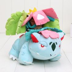 "Pocket doll Plush Toys 6"" 15cm Mega Evolution Venusaur Soft Stuffed Toy Animals Doll"