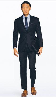 Groom & Groomsmen Suit - Navy