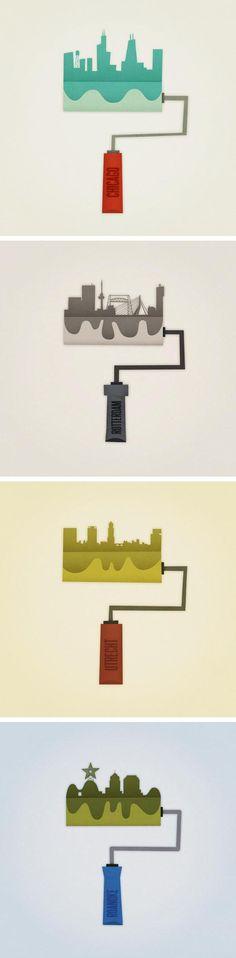 Illustration Series by Eva Galesloot