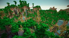 Lots of towns and castles: an expansive world! (picture heavy) - Screenshots - Show Your Creation - Minecraft Forum Minecraft Jungle House, Minecraft Castle, Minecraft Medieval, Minecraft Plans, Minecraft House Designs, Minecraft Survival, Minecraft Blueprints, Minecraft Creations, Minecraft Houses Xbox