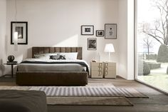 Presotto Italia Dado Tube bed   Italian designer beds   Robinsons Beds