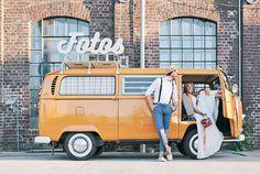 Rollender Fotobus: 8 Photo Booths auf vier Rädern | Hochzeitsblog The Little Wedding Corner