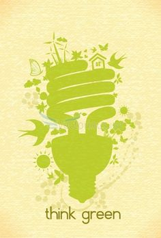 Green Is the New Black: 15 Eco-friendly Vector Illustrations