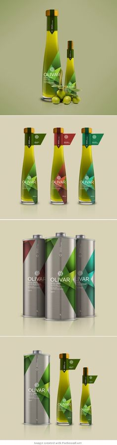 Packaging / Olivar Olive Oil Student Project