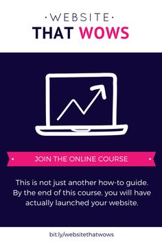 Want to launch your own gorgeous, professional website in a week (with no tech skills!)? Hells yeah you do! This course will teach you how to turn your business or blog idea into a brand, attract your dream clients, and look like the absolutely BOSS you are! This course is perfect for you if you are a serviced based business, freelancer, coach, blogger or infopreneur! Click through to learn more about designing your own Squarespace website.