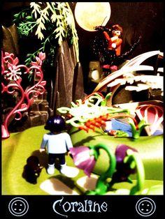 """Der verzauberte Garten aus Neil Gaimans """"Coraline"""". Playmobil"""