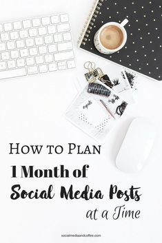 How to Plan 1 Month of Social Media Posts at a Time – business marketing ideas Plan Marketing, Social Media Marketing Business, Facebook Marketing, Internet Marketing, Online Marketing, Online Business, Marketing Communications, Marketing Opportunities, Marketing Strategies