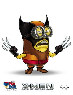 X Men wolverine minion computer wallpaper Despicable Me 2 Minion as X Men Character Backgrounds by Hamza Ajmal Image Minions, Minion Gif, Despicable Me 2 Minions, Minions Images, Cute Minions, Minion Movie, Minion Pictures, Minion Party, Minions Despicable Me