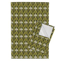Orpington Tea Towels featuring TinyDandyDaffySquare12 by karenspix | Roostery Home Decor