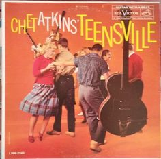 Chet Atkins' Teensville, Vintage Record Album, Vinyl LP, Classic Pop Rock, 1950's Dance Music, Love Ballads, 1960 Release by VintageCoolRecords on Etsy