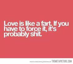 Love is like...