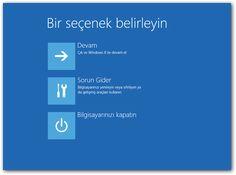 Windows 10 Gelişmiş Başlangıç Menüsü Nedir, Nasıl Ulaşılır? Windows 10