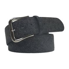 Tailored Sportsman Belt Blackstone THE TAILORED SPORTSMAN™ Blackstone Belt features an allover stinray embossed pattern on long-lasting Clarino and a simple silver buckle. Fits perfectly in the Trophy Hunter belt loops. Genuine leather, Handmade in Italy. Tailored Sportsman, English, Belt, Silver, Leather, Accessories, Fashion, Belts, Moda