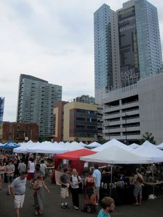LIC Flea & Food is a summer-long outdoor event in the heart of Long Island City's waterfront neighborhood.