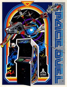 Space Duel Flyer