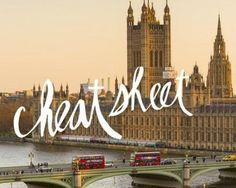 Cheat Sheet: London