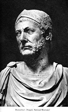 Aníbal Barca (en fenicio Hanni-baʾal, que significa «quien goza del favor de Baal»1 2 3 y Barqa, «rayo»),4 conocido generalmente como Aníbal, nacido en el 247 a. C. en Cartago (al norte de Túnez) y fallecido en el 183 a. C.5 6 7 8 en Bitinia (cerca de Bursa, en Turquía), fue un general y estadista cartaginés, considerado como uno de los más grandes estrategas militares de la Historia.