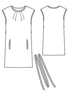 BurdaStyle Satin Dress