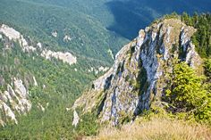 Postăvaru Peak from Romania