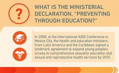 "What is the Ministerial Declaration, ""Preventing through Education?"""