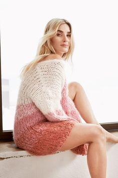 CP-29 TULIP – Camilla Pihl Strikk Knit Fashion, New Job, Camilla, Tulips, Knitwear, Beautiful Women, Style Inspiration, Knitting, Design
