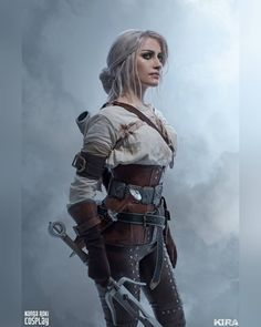 The Witcher Ciri cosplay by Narga Ciri The Witcher 3, The Witcher Game, Witcher 3 Wild Hunt, Witcher Art, Female Anime, Girl Gifs, Character Outfits, Best Cosplay, Popular Culture
