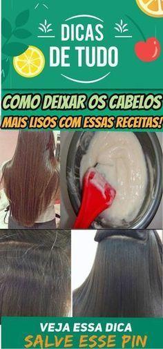 COMO DEIXAR O CABELO MAIS LISO COM RECEITAS CASEIRAS #cabelos #maislisos #mulher #beleza