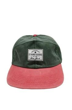 Hat: Green/Red Patch New Arrivals!