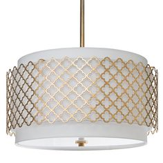 Regina Andrew Lighting Modern Luxe Gold Chandelier @Layla Grayce