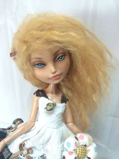 Ever After High Doll Ooak Repaint Хай кукла ооак by Liuba Small