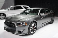 David got two of the Dodge Charger SRT8,