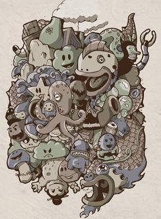 Pixelkaiju - Illustration & Character design