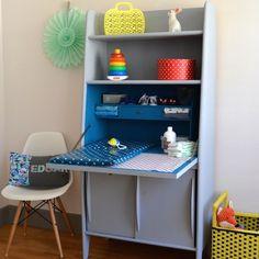 Babayaga magazine; avant & après ; transformation; peinture; meuble; vintage; motherblogger; table à langer; enfant; chambre; décoration