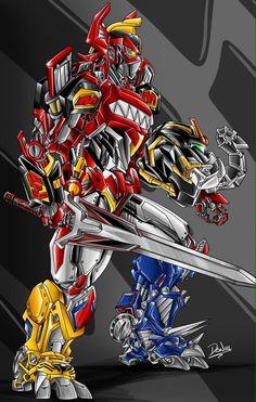 Power Rangers Megazord