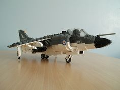 Sea Harrier FRS.1 #flickr #LEGO #plane