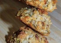 Domácí ovesné sušenky s hromadou semínek Muesli, Crinkles, Baked Potato, Cauliflower, Banana Bread, French Toast, Potatoes, Cookies, Baking