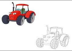 Coloring Pages For Kindergarten : Car coloring pages free printable for preschool land