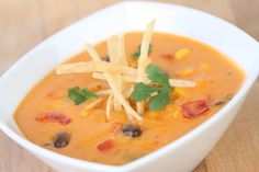 Cheesy Enchilada Soup Recipe - Disney Parks