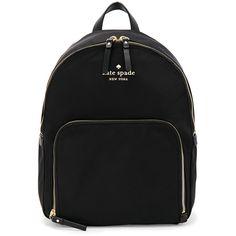 kate spade new york Hartley Backpack ($200) ❤ liked on Polyvore featuring bags, backpacks, handbags, rucksack bags, knapsack bag, day pack backpack, daypack bag and backpack bags