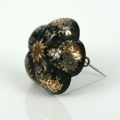 Pique brooch, 1860s | In the Swan's Shadow