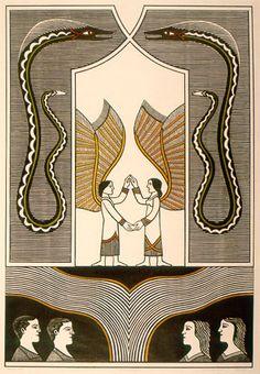 """""""O encontro"""". Artista : Gilvan Samico - Pesquisa Google"""