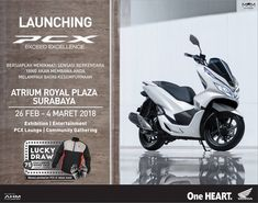 Launching New PCX 150 EXCEED EXCELLENCE di Atrium ROYAL PLAZA