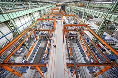 ©Be360images - Industrial Photography -  Wartsila Italia s.p.a. Trieste Plant